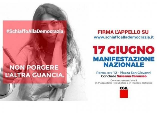 Cgil La settimana del lavoro Tutti a Roma sabato 17 contro nuovi voucher