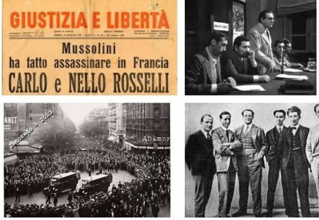 L'EcoStoria Accadde 80 anni fa Il delitto di Stato di Carlo e Nello Rosselli Evento venerdì 16 giugno 2017