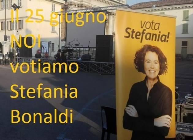 Ballottaggio Crema del 25 giugno La comunità socialista indica di votare  Stefania Bonaldi e ringrazia Mimma Aiello