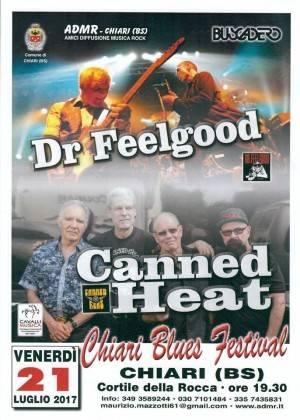 Brescia Nasce il primo 'Chiari Blues Festival' Evento 21 luglio 2017