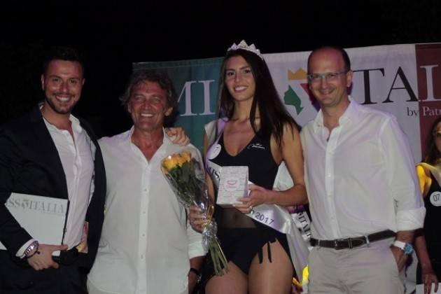L'annuncio di Santo Canale : Miss Ponticello Beach 2017 è Sara Esposito, 23 anni