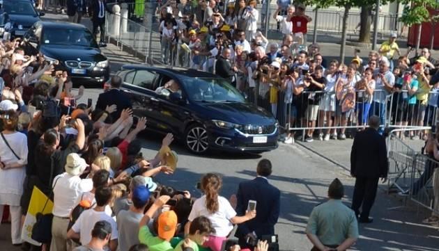 L'omelia di Papa Francesco sulla tomba di Don Primo Mazzolari a Bozzolo