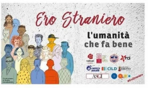ERO STRANIERO_Cremona 26 giugno ore 17:30. Puoi firmare la proposta di legge
