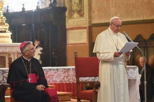 Dopo visita del Papa Francesco a Bozzolo  il Vescovo  Antonio Napolioni ringrazia