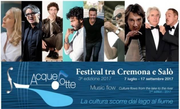 Acque Dotte Venerdì 11 Agosto 2017 Paolo Jannacci a Salò