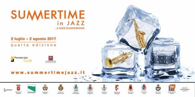 Summertime in Jazz 2017 Evento  di Mercoledì 2 agosto nel borgo di Vigoleno