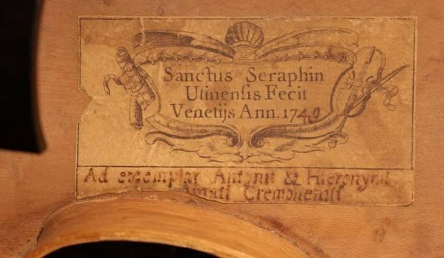 Cremona MDV Violino Santo Serafino 1749: il suono ritrovato Audizione l'11 luglio