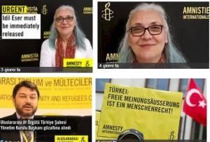 Amnesty La Turchia deve rilasciare i dirigenti di Amnesty International  Firma anche tu !