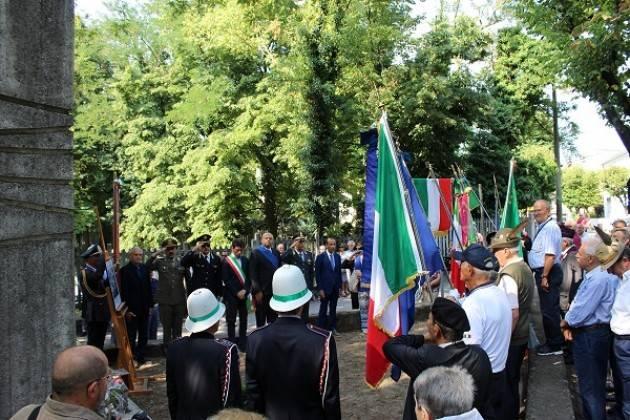 Cremona Commemorate le vittime del bombardamento del 10 luglio 1944