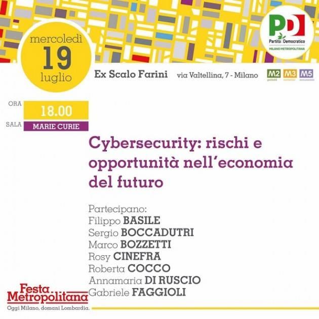 Tecno  Incontro a Milano Cybersecurity: rischi e opportunità nell'economia del futuro