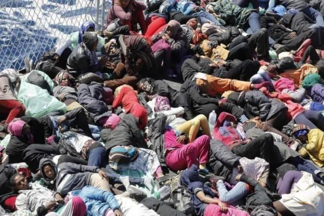 Pianeta migranti. Libia scaricabarile dell'Europa.