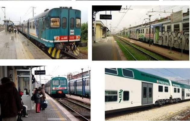 Linea ferroviaria Cremona-Crema-Treviglio Una indecenza di  Danio Asinari  (San Giovanni in Croce)