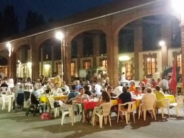 Crema Rifondazione Comunista in Festa ad Ombianello Si chiude oggi  lunedì 31  luglio