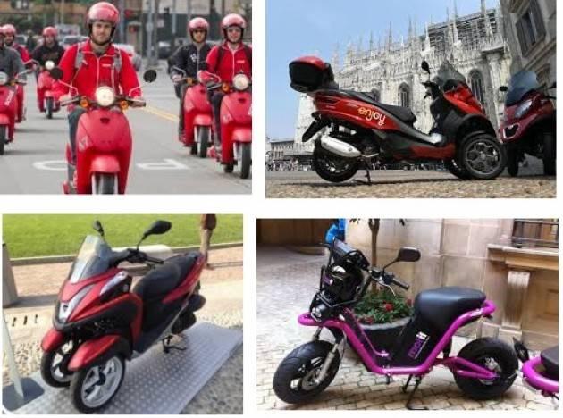 Milano Mobilità: SHARING, un nuovo bando per lo scooter in condivisione