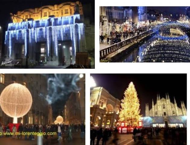 Milano Commercio Il comune alla ricerca di idee e sponsor per illuminare le festività natalizie