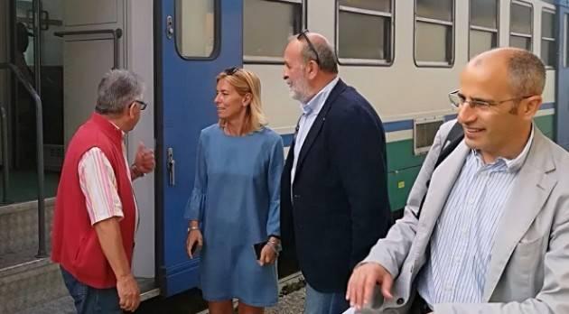 (Telefonata) Agostino Alloni (Pd) incontra il sindaco ed i pendolari alla stazione di Olmeneta