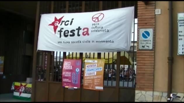 (Video) Al via La 23° ArciFesta2017 Cremona  Immagini della prima serata di venerdì 28 luglio