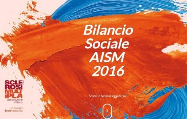 È online  il Bilancio sociale 2016 di AISM