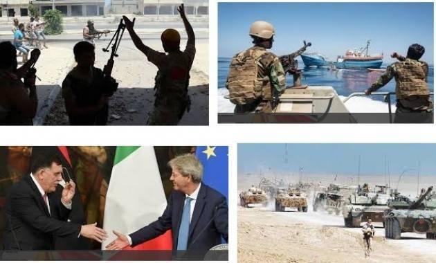 Libia Violati per l'ennesima volta diritti umani, di Francesca Berardi segretaria PRC Cremona