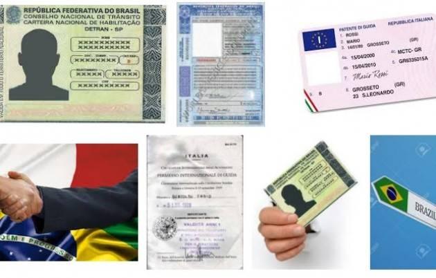 Patenti di guida Il parlamento brasiliano ratifica  l'accordo riconoscimento reciproco