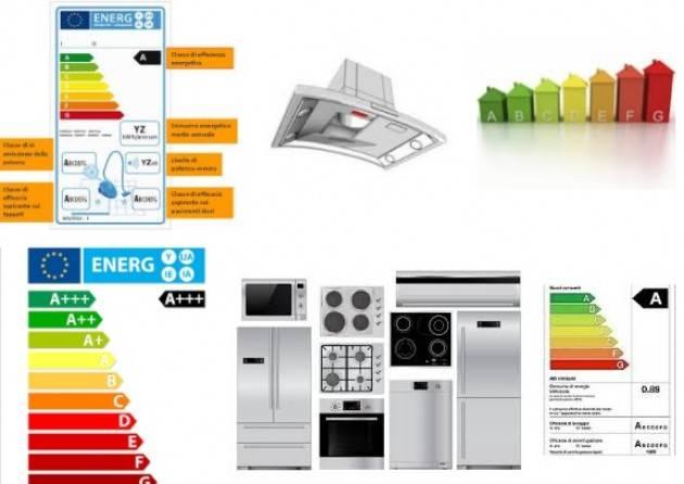 ADUC Elettrodomestici: nuove etichette in arrivo