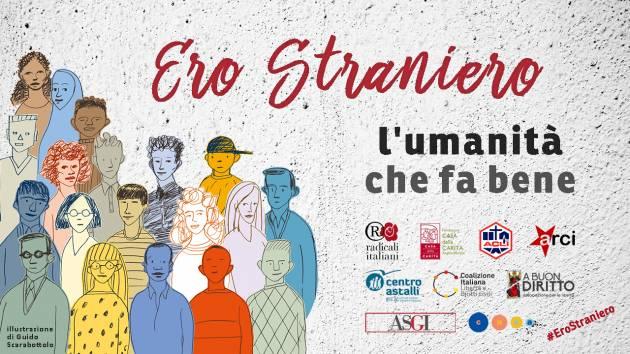 La Cgil Lombardia aderisce alla campagna 'Ero straniero'