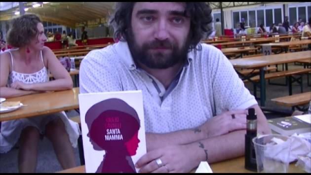 (Video) ArciFesta2017 Cremona Mario Feraboli intervista Giulio Cavalli sul suo libro 'Santamamma'
