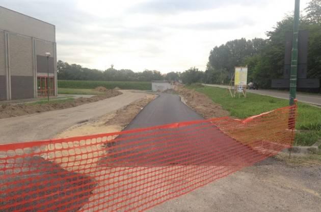 Finalmente dopo anni Ciclabile Cremona Cavatigozzi completata l'asfaltatura