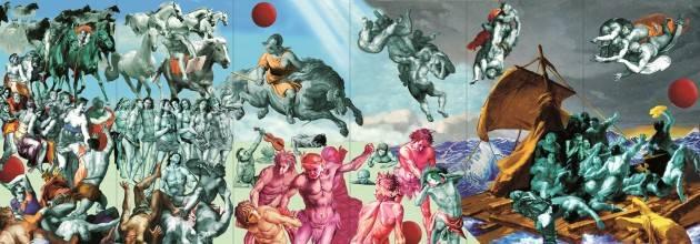 La mostra LA FINE DEI TEMPI del maestro Virginio Lini al Fodri  fino al 5 gennaio 2018