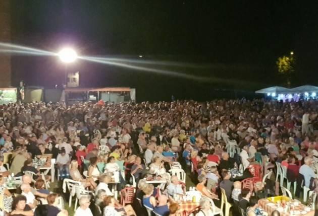 Pandino Dopo 13 giorni è terminata la Festa dell'Unità