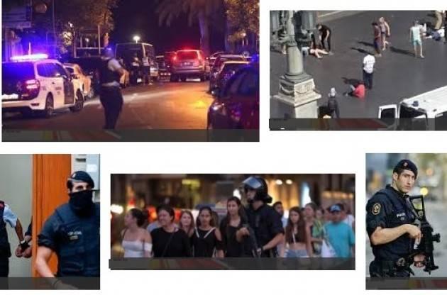 Accadde Oggi   17 agosto 2017 Amnesty Attentati a Barcellona  crimini contro umanità