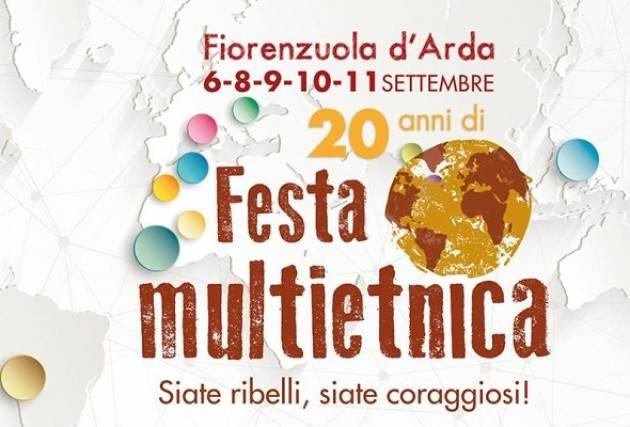 Festa Multietnica - XX edizione a Fiorenzuola 6 settembre – 11 settembre