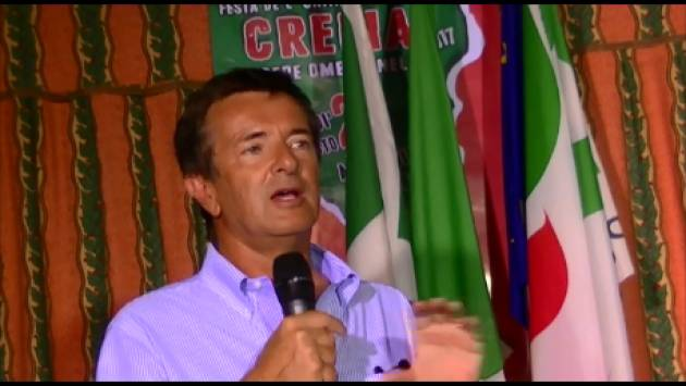 (Video) Festa Unità Crema Piloni ed Alfieri (Pd) con Giorgio Gori  candidato e con una coalizione di centrosinistra  si può battere Maroni