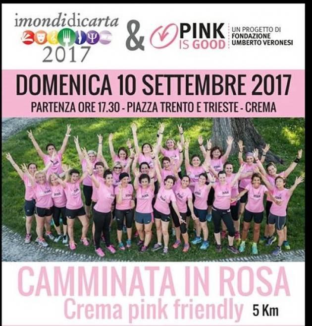 Crema Camminata Rosa Siamo quasi pronti per la partenza!!!!