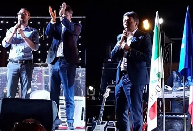 (Video) A Crema Matteo Renzi fa il pienone alla Festa dell'Unità 2017 di  Ombrianello