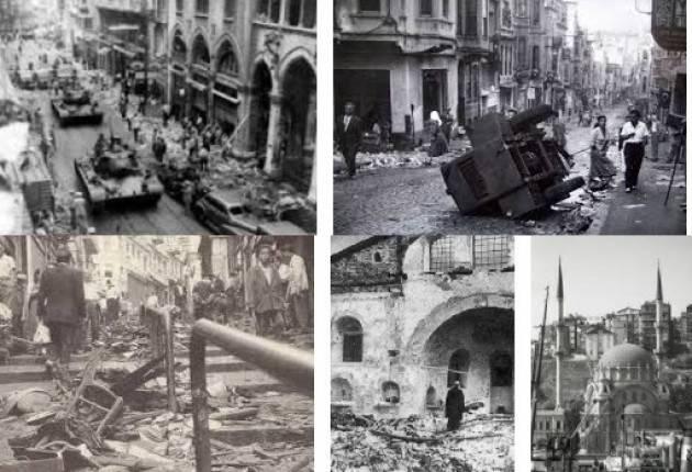AccaddeOggi 6 settembre 1955 - Pogrom d'Istanbul: saccheggio colpisce minoranze greca, ebrea e armena