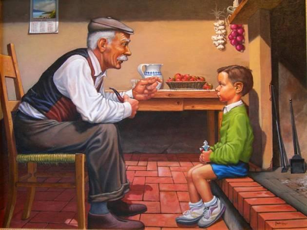 """Quei  nonni che raccontano non solo  le favole: ERA L'8 SETTEMBRE DEL 1943"""".Giorgino Carnevali (Cremona)"""