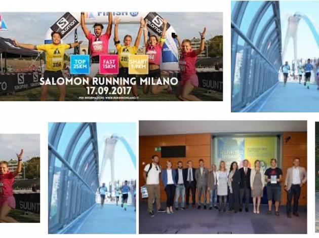 Spot Un nuovo percorso per LA SALOMON RUNNING MILANO