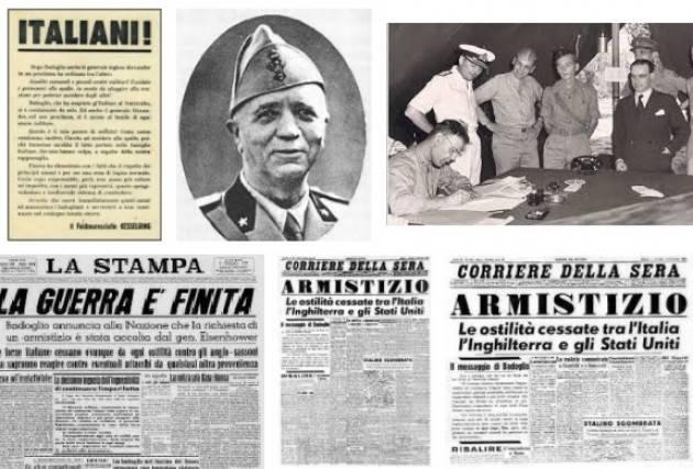 AccaddeOggi 8 settembre 1943. Badoglio proclama l'armistizio.I tedeschi attaccano l'esercito italiano