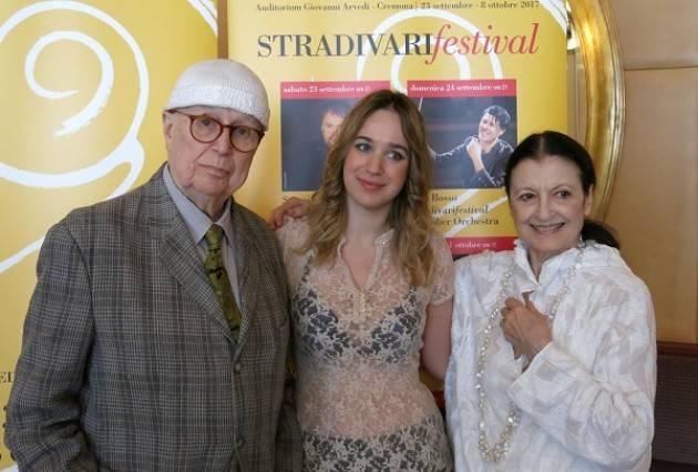 Carla Fracci ritorna sulle scene per lo ' Stradivari Festival'  il 30 settembre