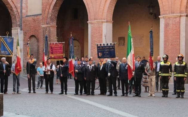 Cremona Commemorato il 74° anniversario dell'8 settembre