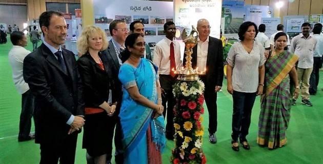 CremonaFiere: le Fiere Zootecniche Internazionali di Cremona in missione all'Agritex di Hyderabad
