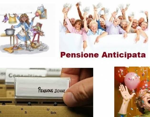 Pianeta Anziani Previdenza Pensioni, Cgil: misure per donne non vanno bene