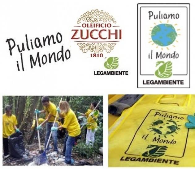 Cremona  Oleificio Zucchi al fianco di Legambiente per un mondo più pulito