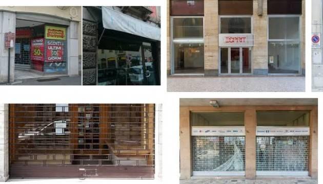 Confesercenti A Cremona  COMMERCIO E TURISMO PERSE 530 ATTIVITA' MENO  in 10 anni di crisi