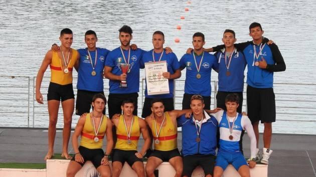 Canottieri Bissolati Cremona  Pioggia di medaglie ai Campionati Italiani di velocità di Milano dal 15 al 17 settembre