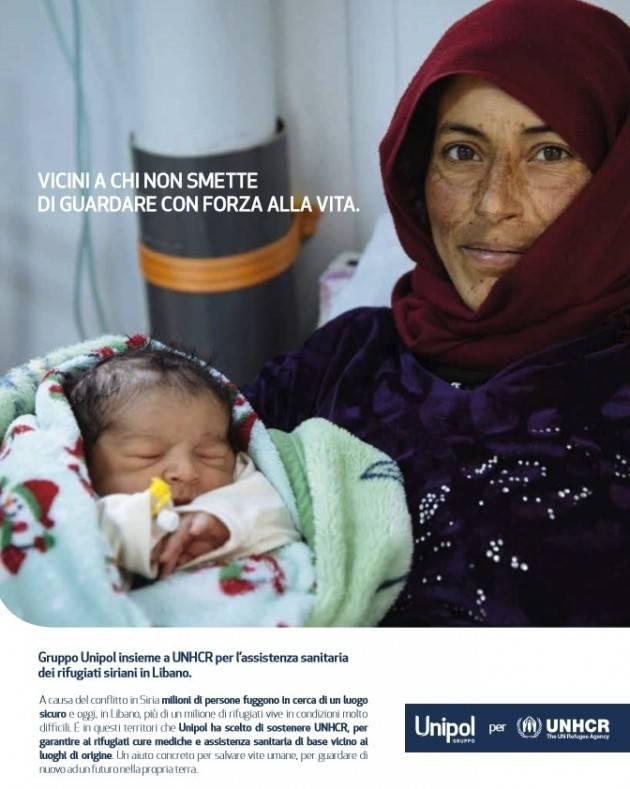 Unipol Ha attivato una importante collaborazione con UNHCR a favore dei rifugiati.