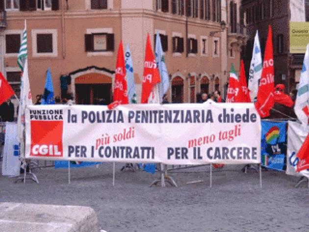 La mobilitazione Polizia penitenziaria, Fp Cgil: no a strumentalizzazioni