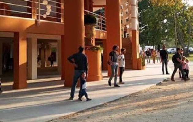 Cremona Inaugurate  le Colonie Padane donate da Giovanni Arvedi alla città Entusiasta il Sindaco Galimberti