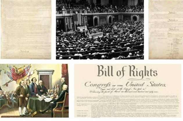 AccaddeOggi  25 settembre 1789 – La Carta dei diritti viene approvata dal Congresso degli Stati Uniti